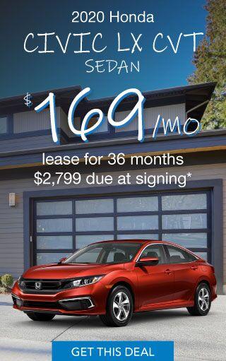 2020 Honda Civic Offer