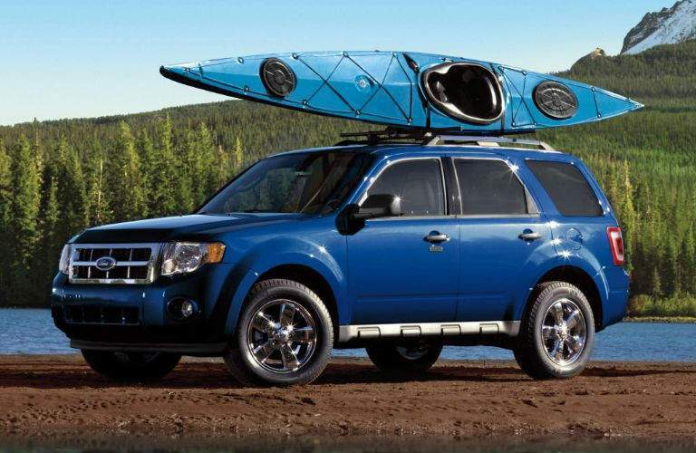 Ford Escape with Kayak