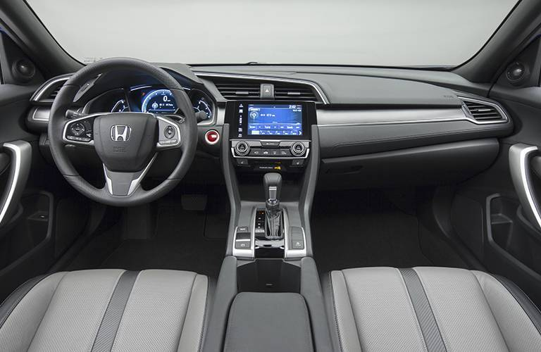 2016 Honda Civic Coupe Interior Front Seat Features