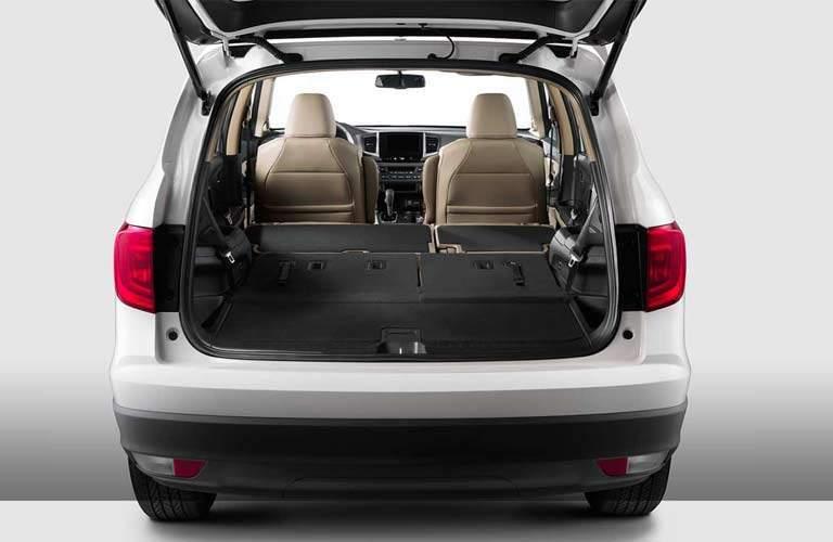 2017 Honda Pilot interior cargo space
