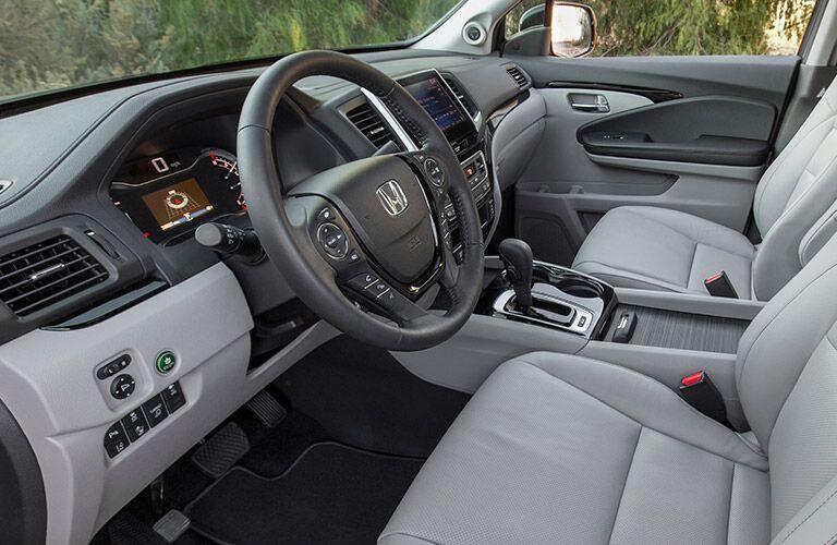 2017 Honda Ridgeline Premium Interior Options