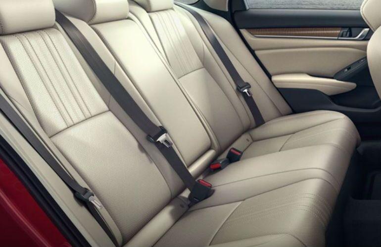 2018 Honda Accord Hybrid rear seats