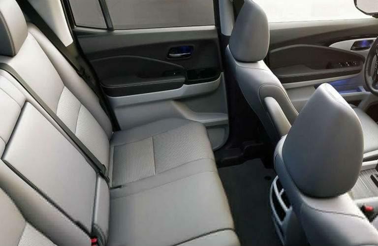 2018 Honda Ridgeline rear seats