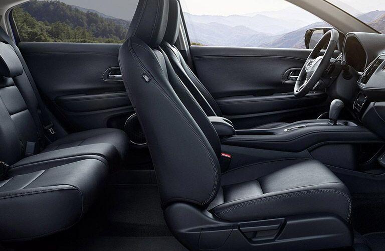 2021 Honda HR-V black leather seats
