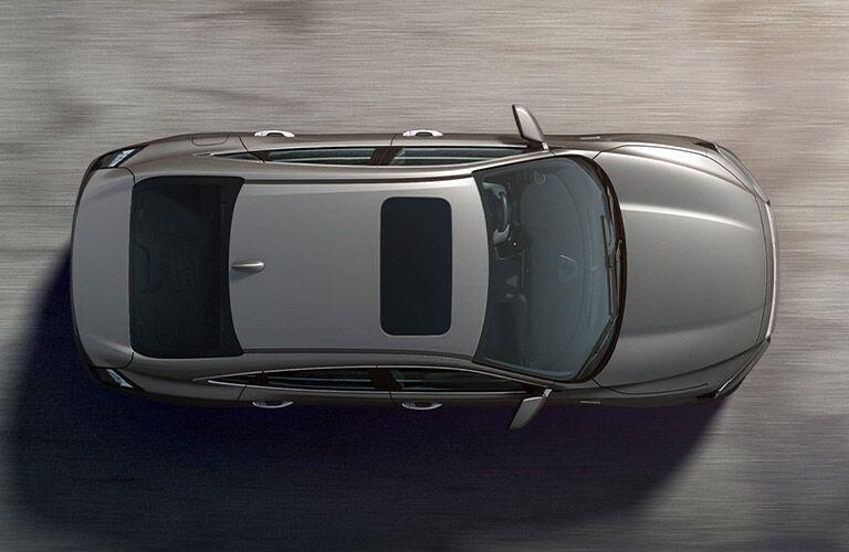 2021 Honda Insight brown top view