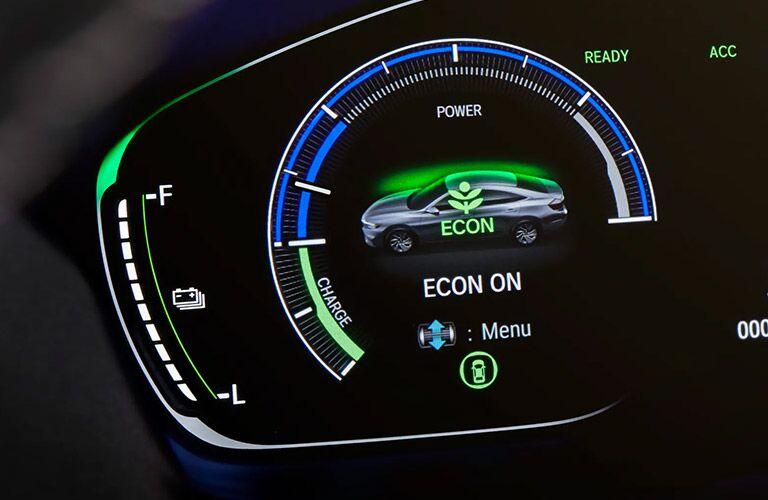 2021 Honda Insight gauge cluster