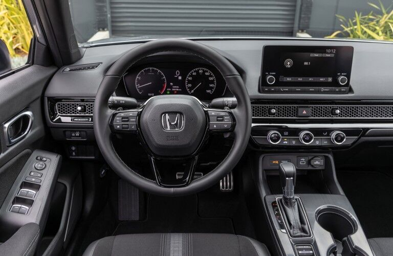 2022 Honda Civic Sport interior