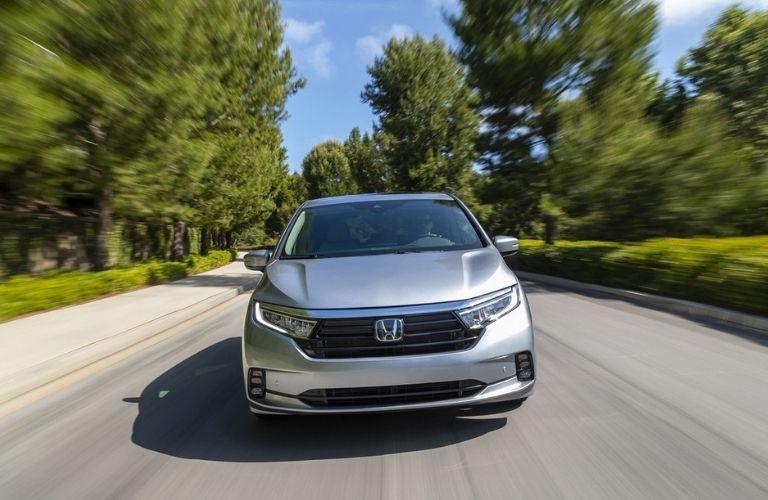 2022 Honda Odyssey front fascia