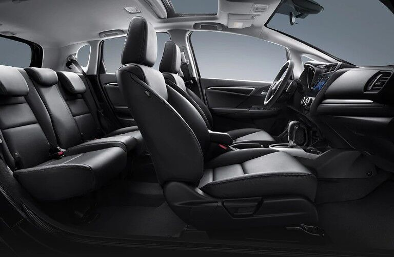 Interior view of 2020 Honda Fit