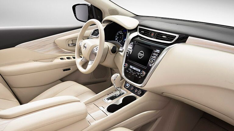 Comfortable interior of the 2015 Nissan Murano