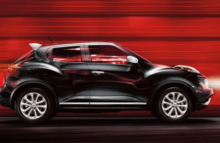 2016 Nissan Juke exterior side black