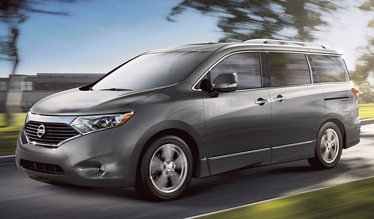 Nissan Quest minivan looking for an adventure