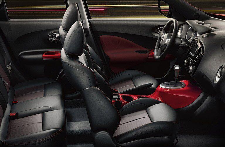 2017 Nissan Juke interior seating area