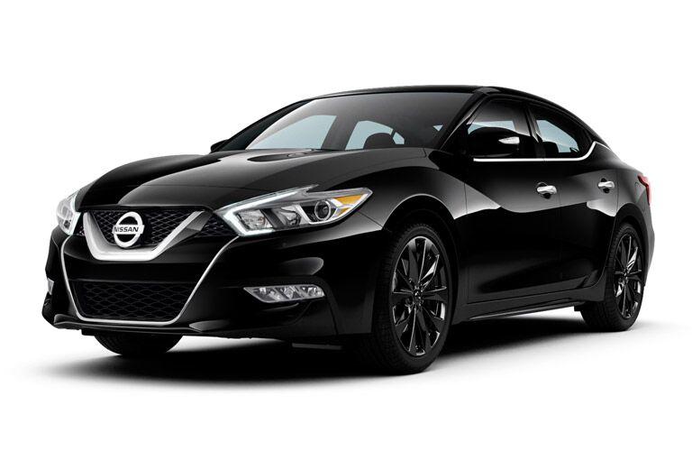 2017 Nissan Maxima exterior front black