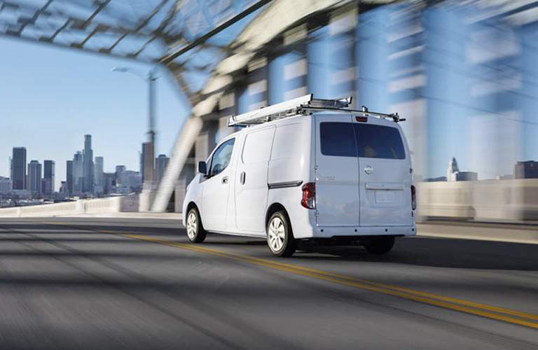 2017 Nissan NV200 back and side profile