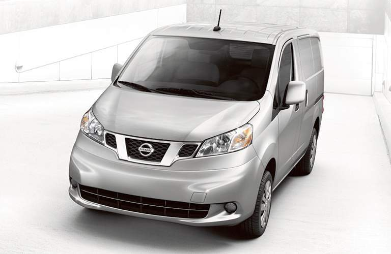 2017 Nissan NV200 front and grille