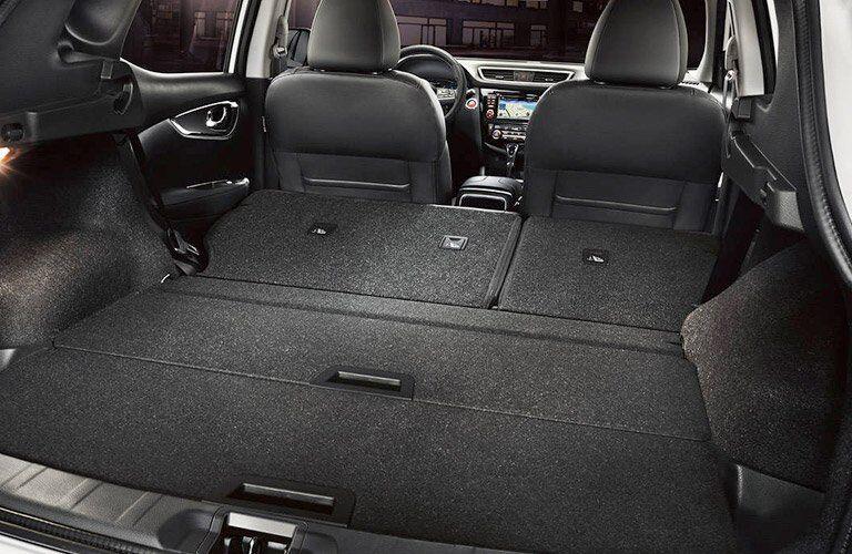 2017 Nissan Rogue Sport interior maximum cargo space