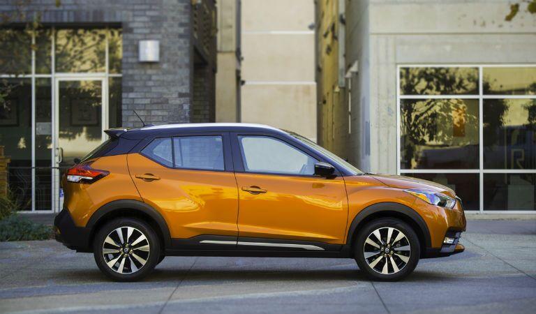 2018 Nissan Kicks Exterior Passenger Side Profile