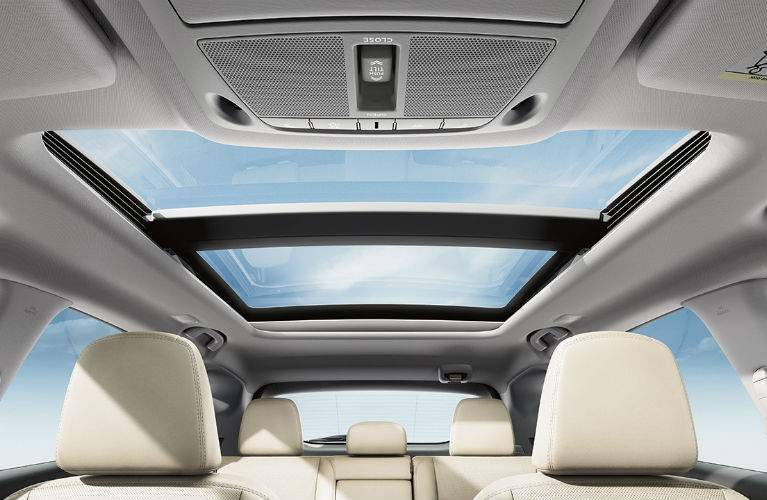2018 Nissan Murano available power panoramic moonroof