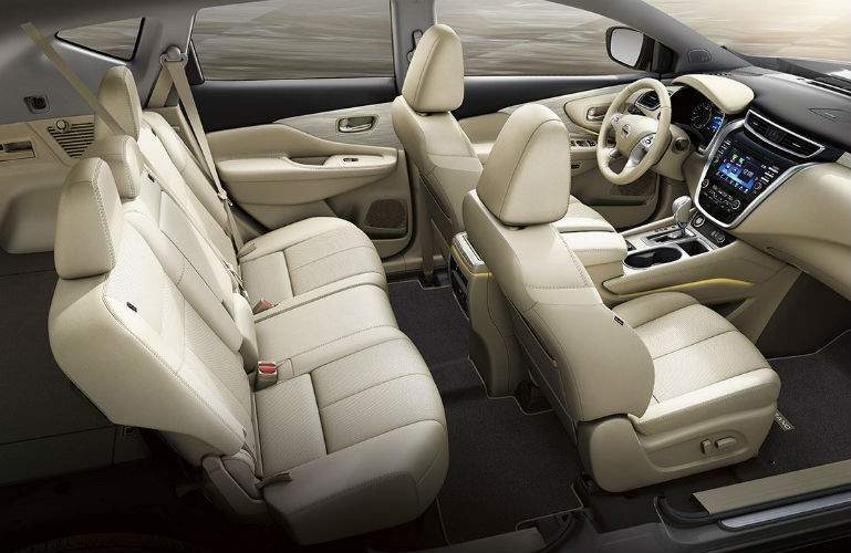 2018 Nissan Murano interior seating with Zero Gravity Seats