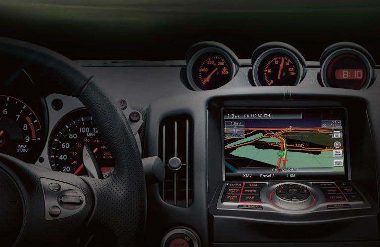 2020 Nissan 370Z Interior Cabin Dashboard Display Audio & Navigation