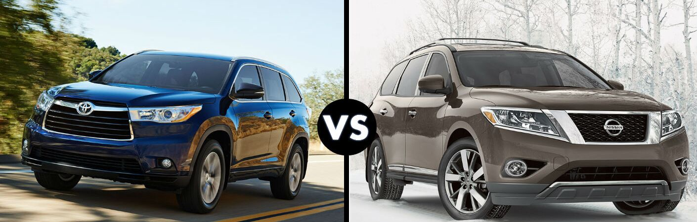 toyota highlander vs nissan autos weblog. Black Bedroom Furniture Sets. Home Design Ideas
