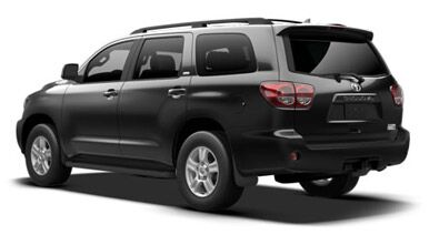 2015 Toyota Sequoia Black