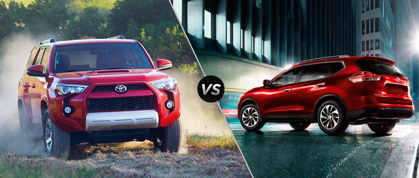 2015 Toyota 4Runner vs 2015 Nissan Rogue