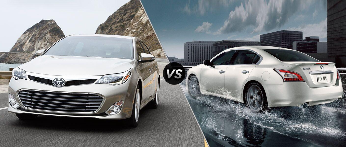 2015 Toyota Avalon vs 2015 Nissan Maxima