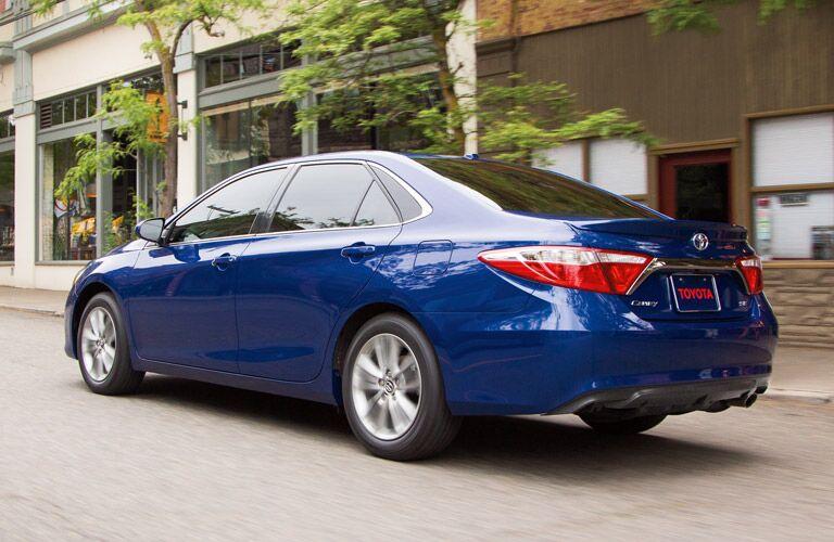 2015 Toyota Camry Blue