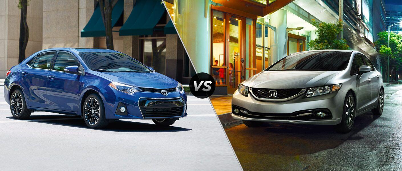 2015 Toyota Corolla vs 2015 Honda Civic