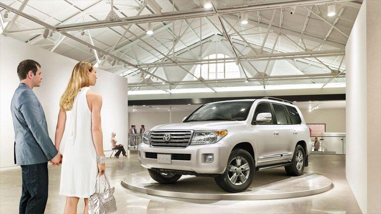 2015 Toyota Land Cruiser Showroom