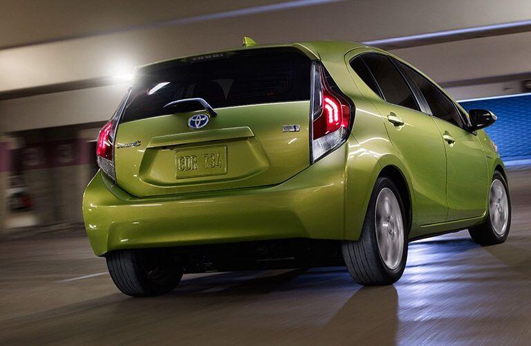2015 Toyota Prius c Green