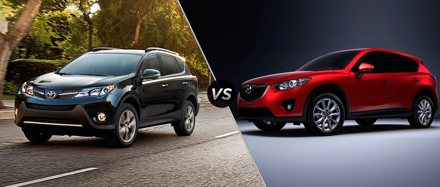 2015 toyota rav4 vs 2015 mazda cx 5. Black Bedroom Furniture Sets. Home Design Ideas