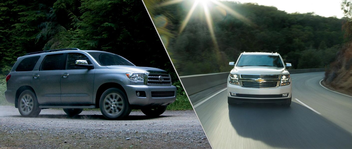 2015 toyota sequoia vs 2015 chevrolet tahoe. Black Bedroom Furniture Sets. Home Design Ideas