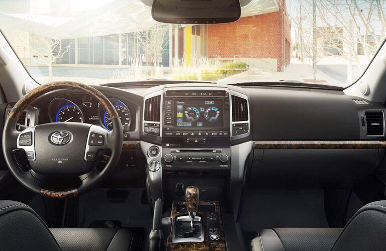 2015 Toyota Land Cruiser Interior