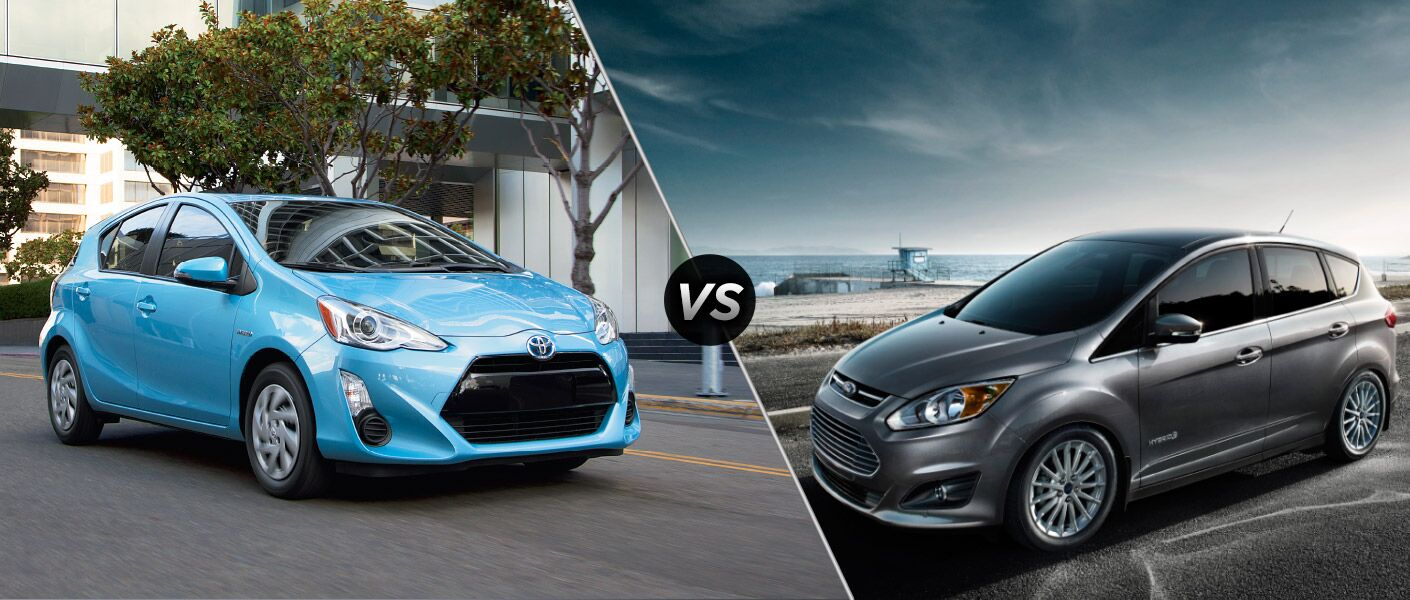 2015 Toyota Prius c vs 2015 Ford C-Max Hybrid