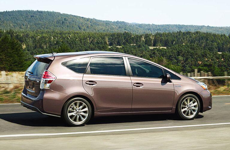 2015 Toyota Prius V Side View