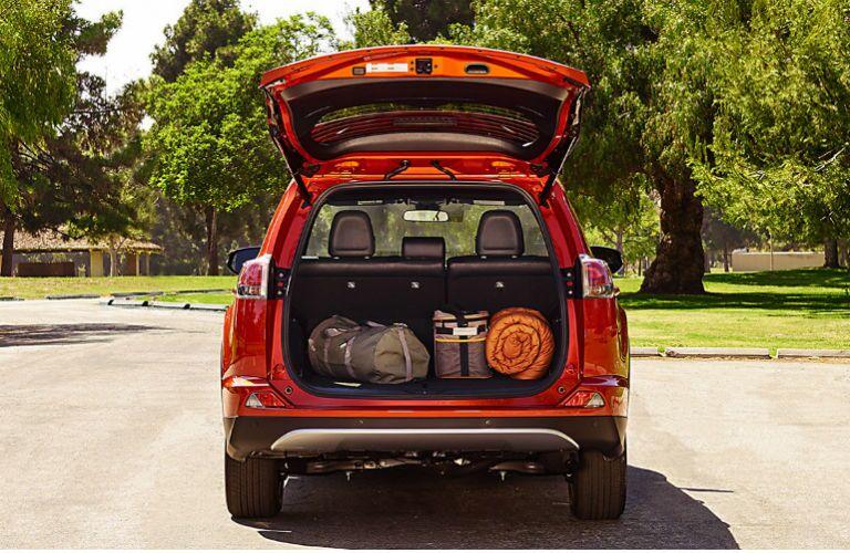 2016 Toyota RAV4 crossover cargo room versatility Tuscaloosa AL