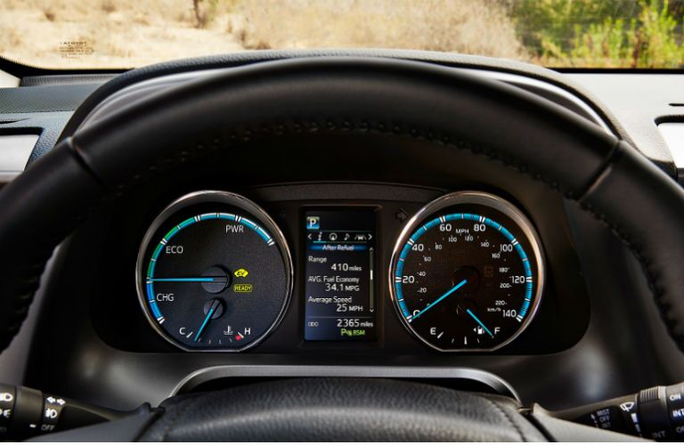 2016 Toyota RAV4 Hybrid Eco EV drive modes Tuscaloosa AL