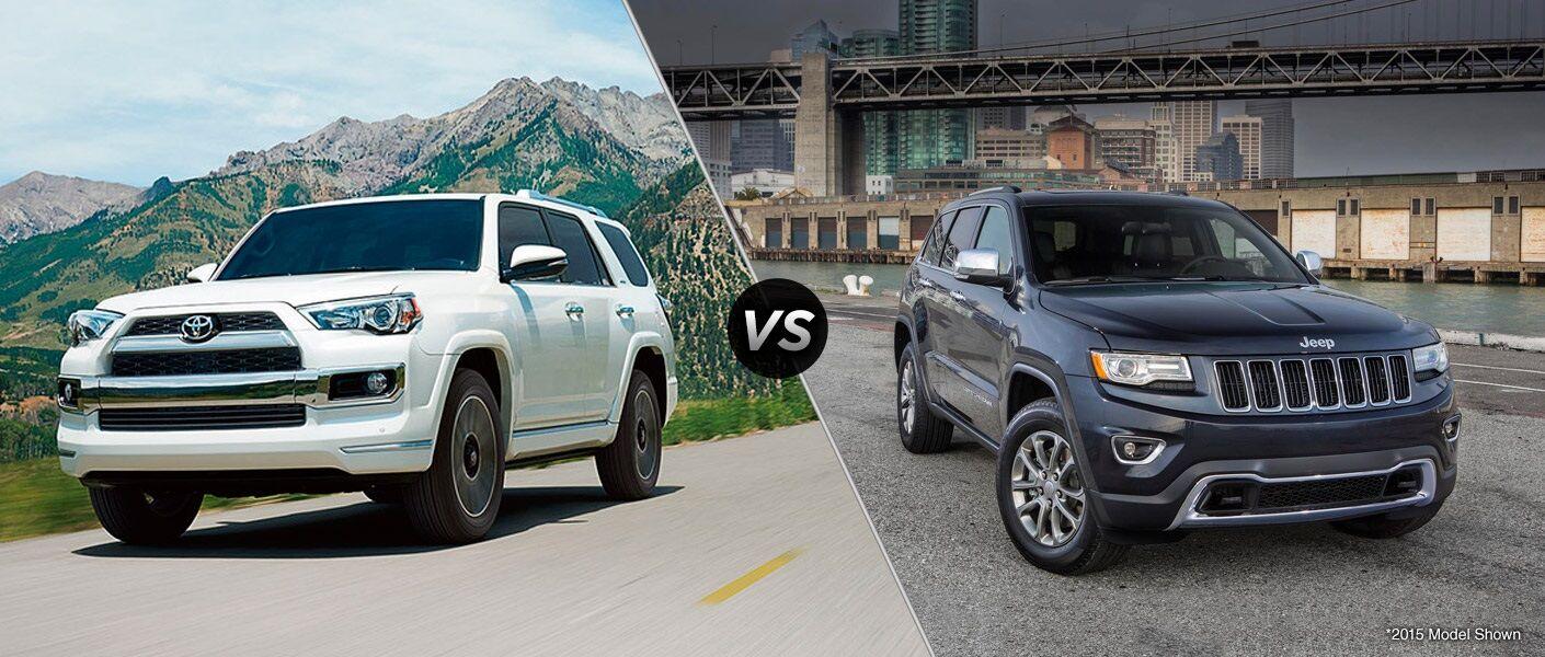 2016 Toyota 4Runner vs 2016 Jeep Grand Cherokee
