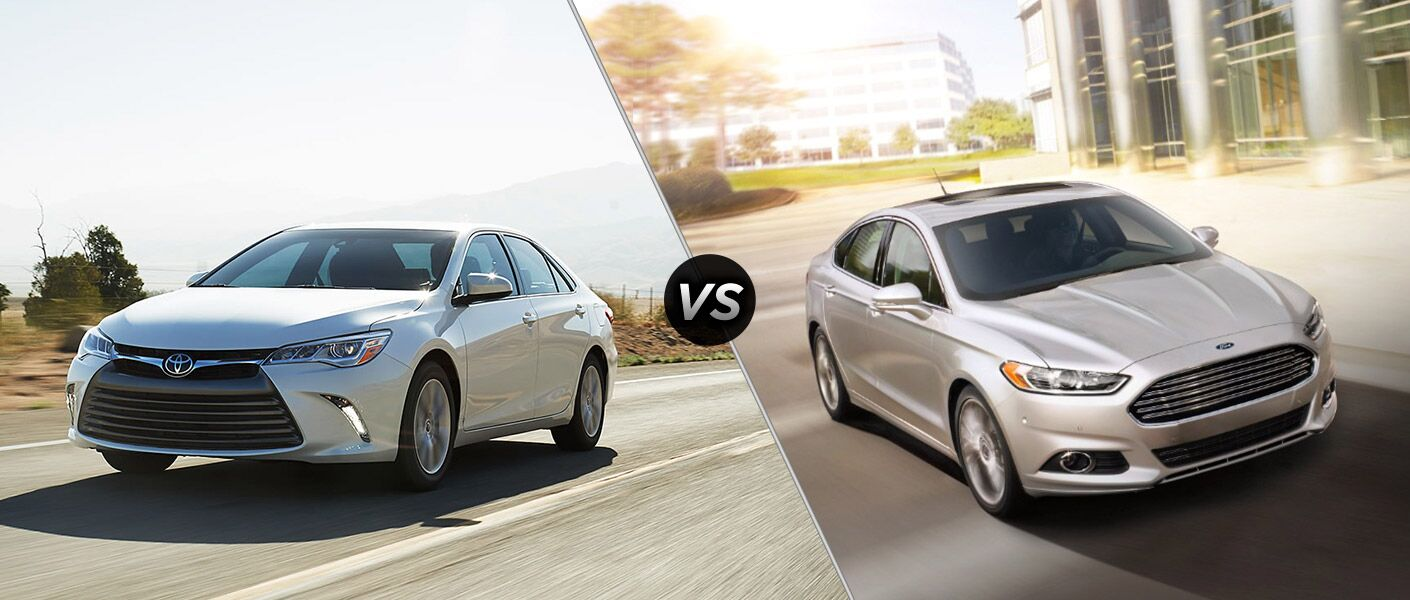2016 Toyota Camry vs 2016 Ford Fusion