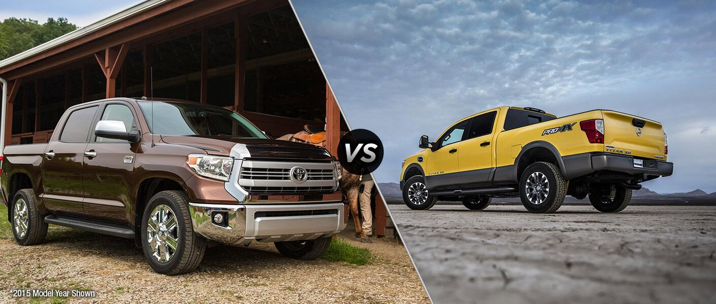 2016 toyota tundra vs 2016 nissan titan. Black Bedroom Furniture Sets. Home Design Ideas