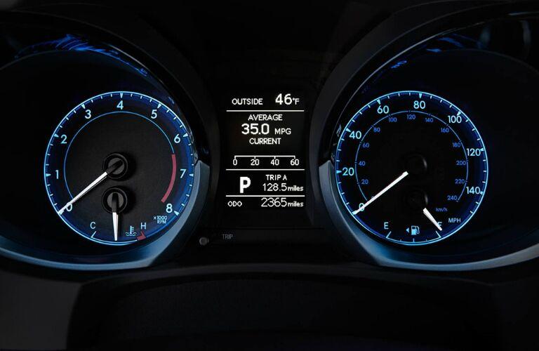 2016 Toyota Corolla Special Edition Tuscaloosa AL Dashboard