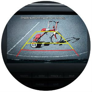 Does the Kia Forte come standard with a rear view camera?