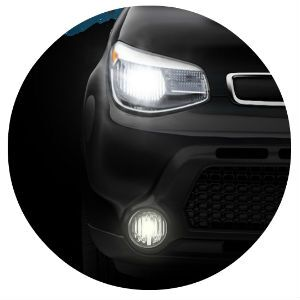 2016 Kia Soul headlight design