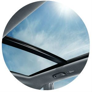 Does the Kia Sorento have a panoramic sunroof?