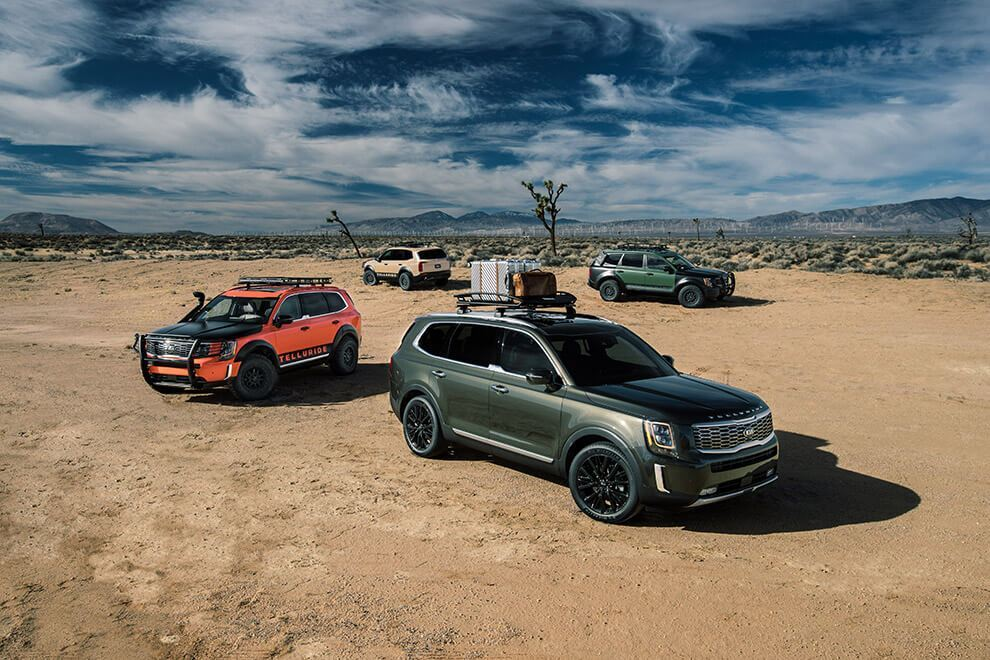 2020 Kia Telluride Performance Features