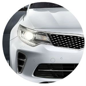 2016 Kia Optima headlight options and designs