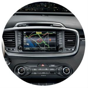 Kia Sorento navigation system